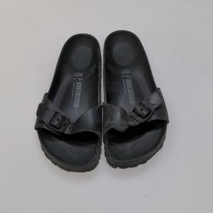 Birkenstock Black Sandals Size 38